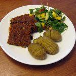 Mallemoere Recepten 3: Hasselbackaardappeltjes met een Frisse Salade.
