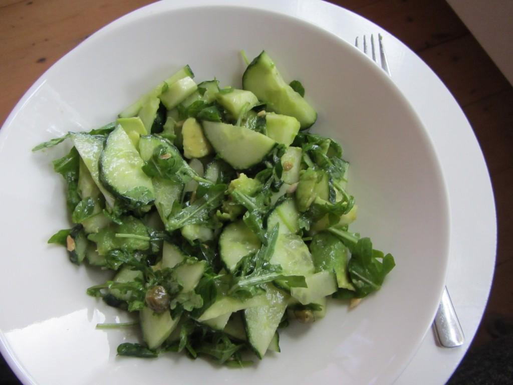 Recept: Groene Salade @ Lauriekoek.nl