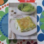 Boekrecensie: 30 Minuten Vegetarisch