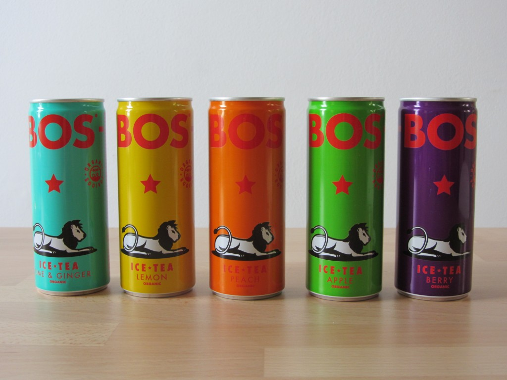 Bos Ice Tea @ Lauriekoek.nl