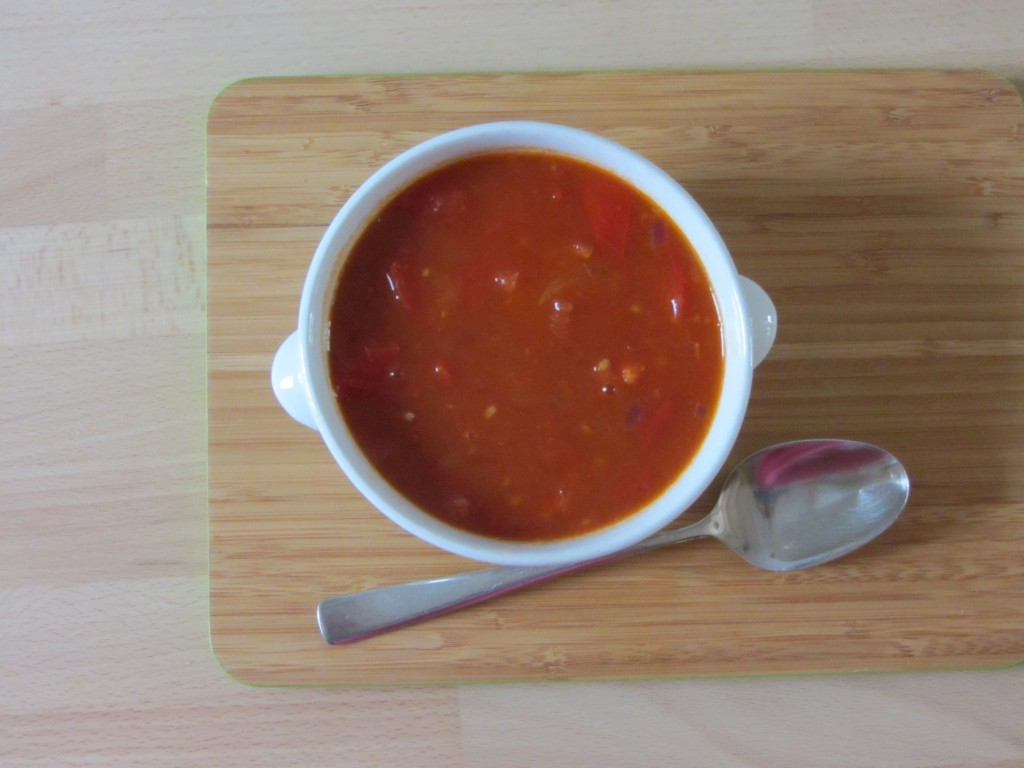 Recept: Chinese tomatensoep @ Lauriekoek.nl