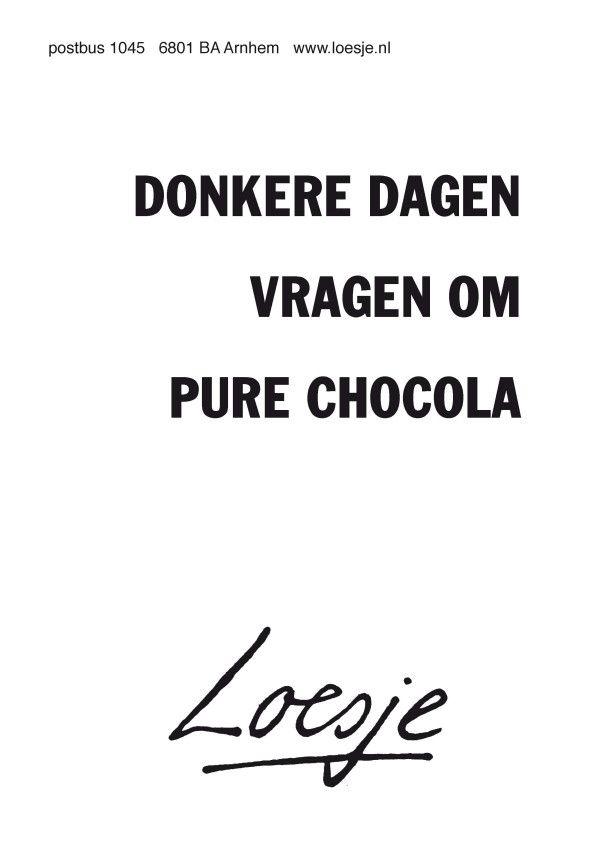 chocolavanloesje