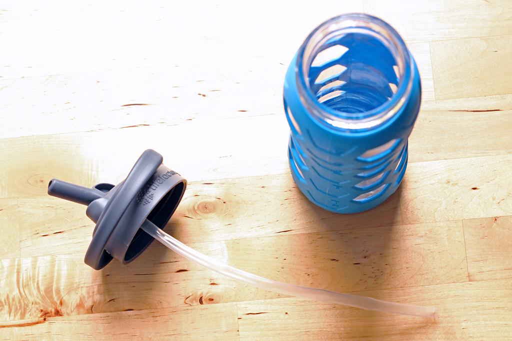 Life Factory Glazen drinkfles @ Lauriekoek.nl