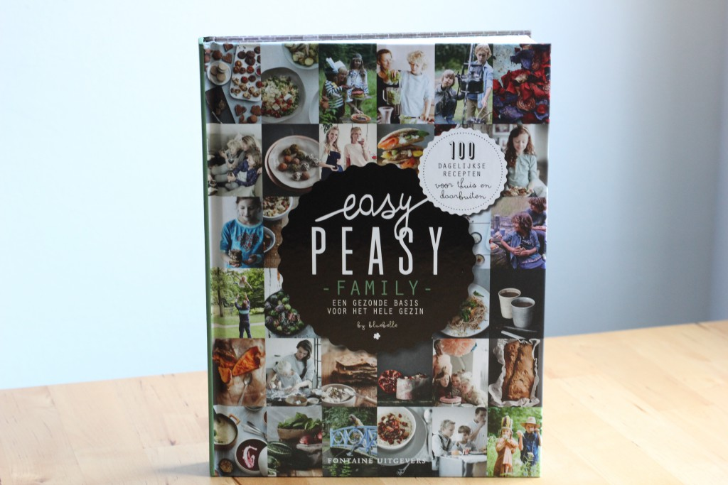 BOekrecensie: Easy Peasy Family @ Lauriekoek.nl