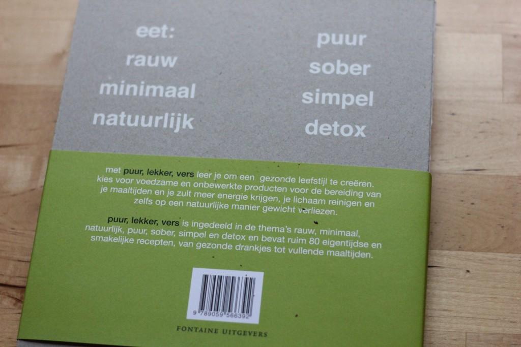 Boekrecensie: Puur, Lekker, Vers @ Lauriekoek.nl