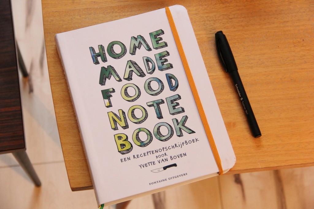 home made food note book @ Lauriekoek