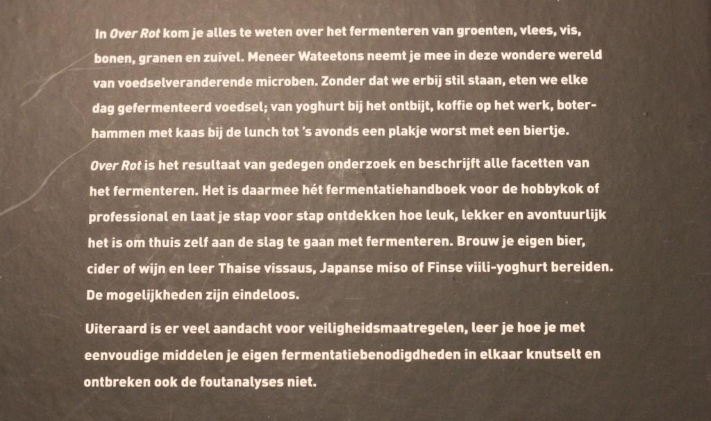 Boekrecensie Over Rot @ Lauriekoek.nl