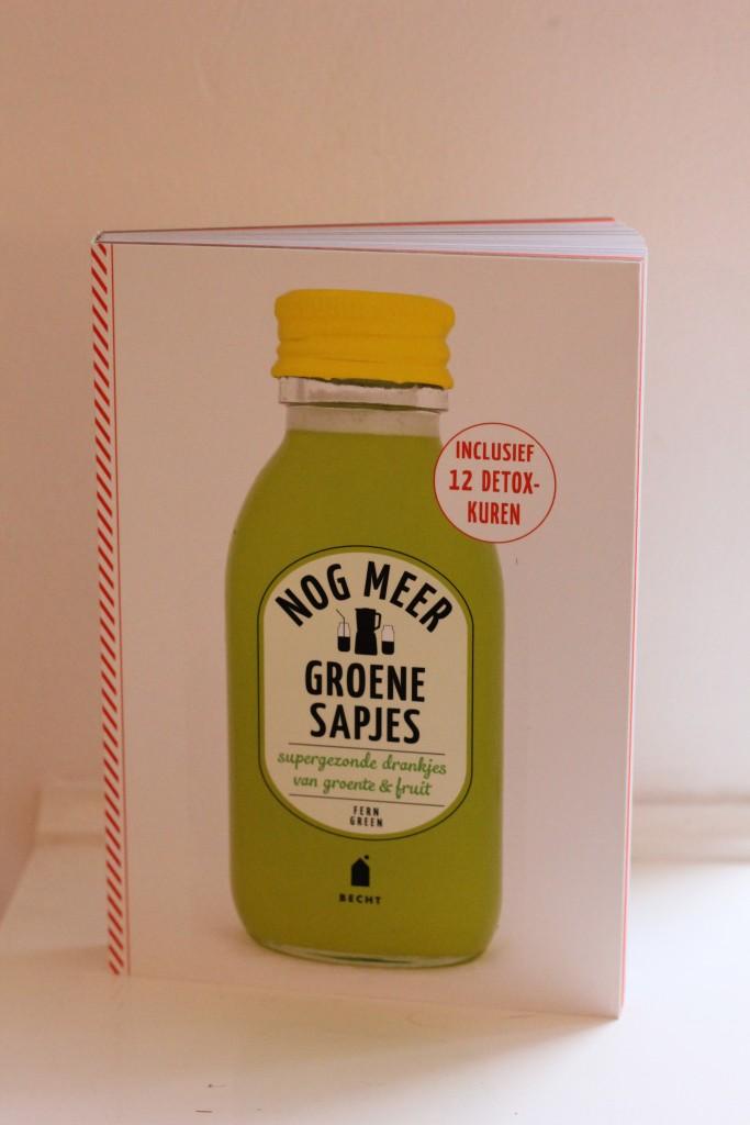 Nog meer groene sapjes voorkant @ Lauriekoek.nl