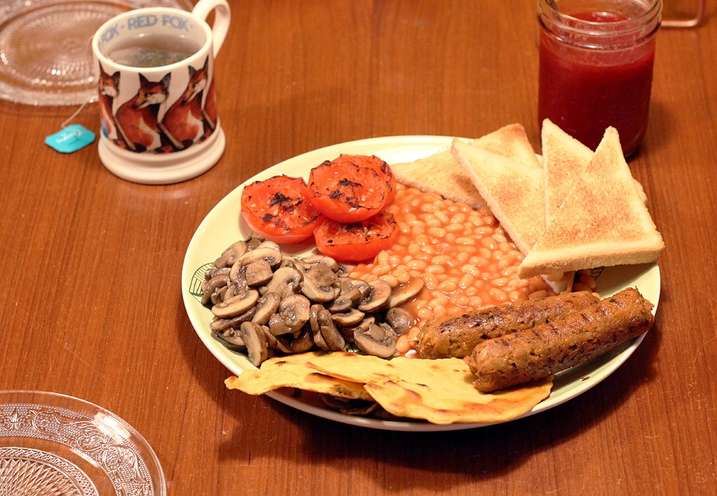 Recept: Full English Breakfast - Vegan Style @ Lauriekoek.nl