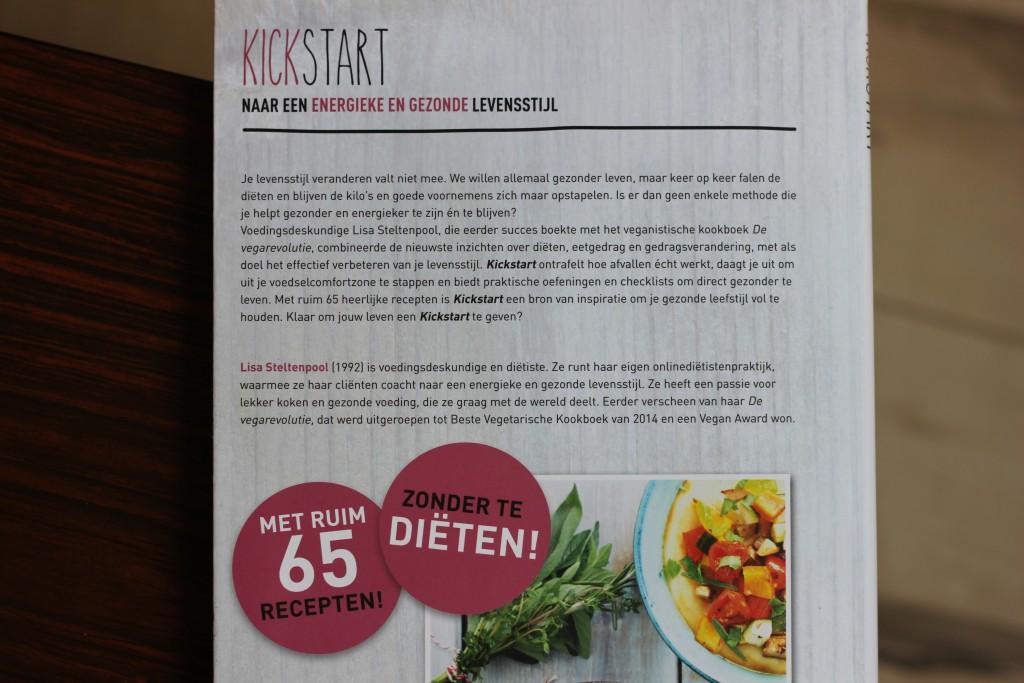 Boekrecensie: Kickstart @ Lauriekoek.nl