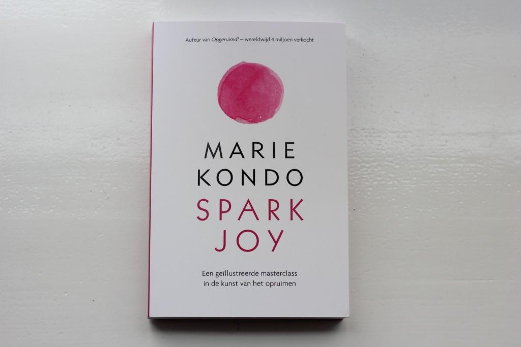 Boekrecensie: Spark Joy Marie Kondo @Lauriekoek.nl