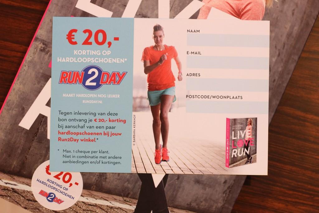 Live Love Run - Boekrecensie @ Lauriekoek.nl