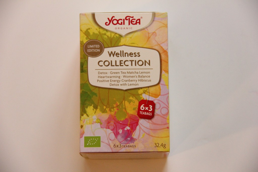 Yogi Tea Wellness @ Lauriekoek.nl