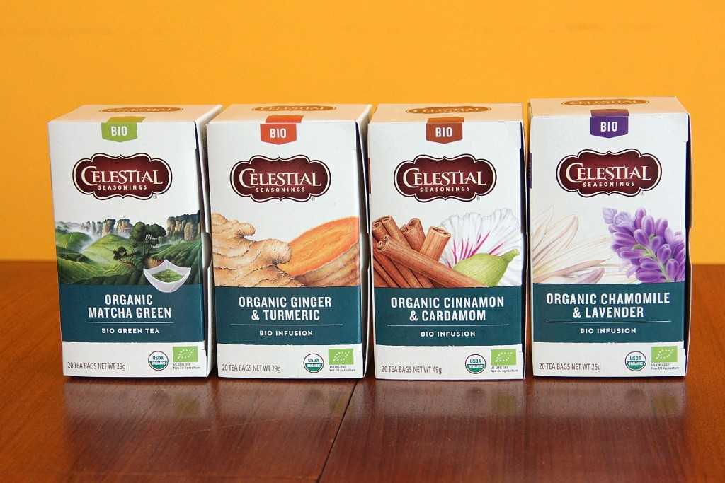 Celestial Seasonings biologische thee @ Lauriekoek.nl