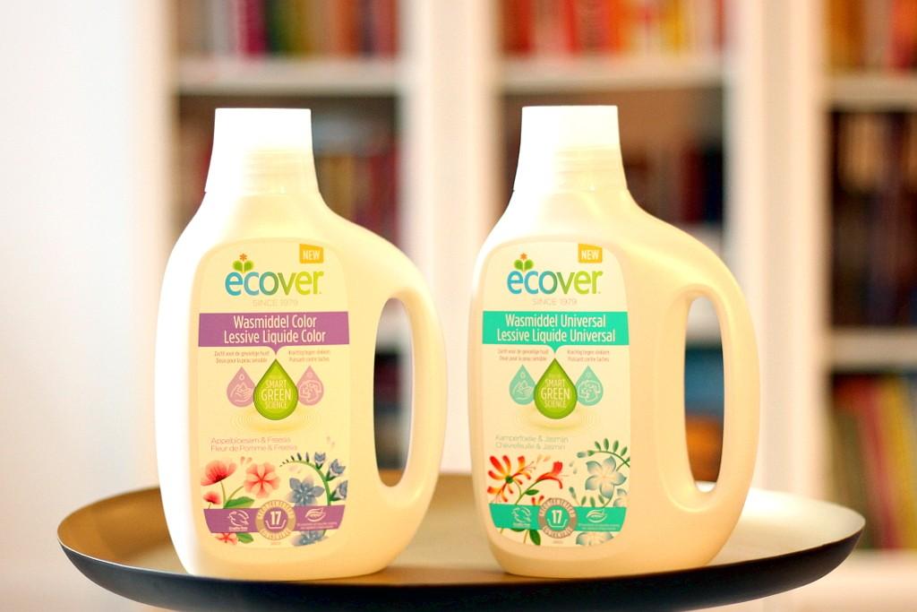 Ecover, de nieuwe wasmiddelen @ Lauriekoek.nl