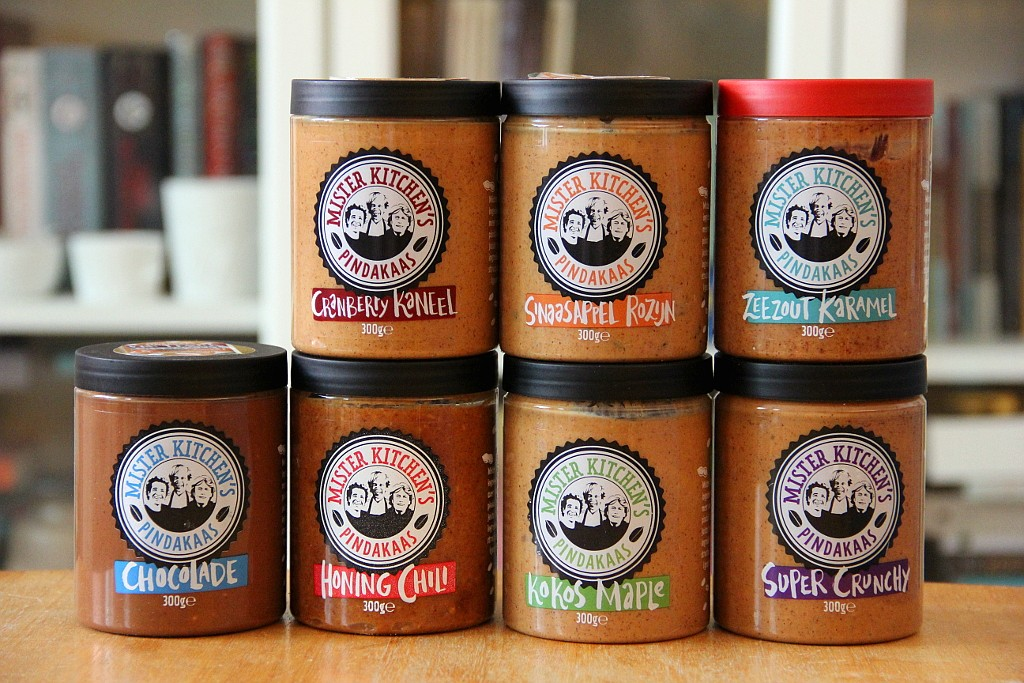 Mister Kitchen's Pindakaas @ Lauriekoek.nl