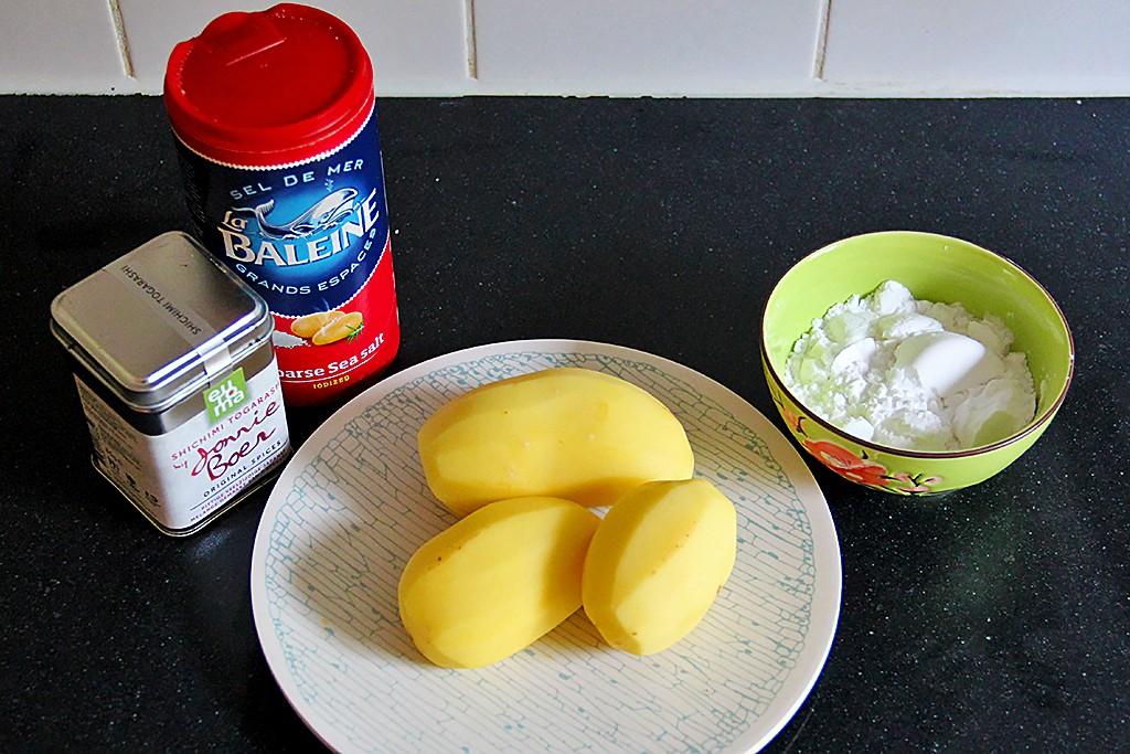 Recept: Chinese aardappelkoek @ Lauriekoek.nl