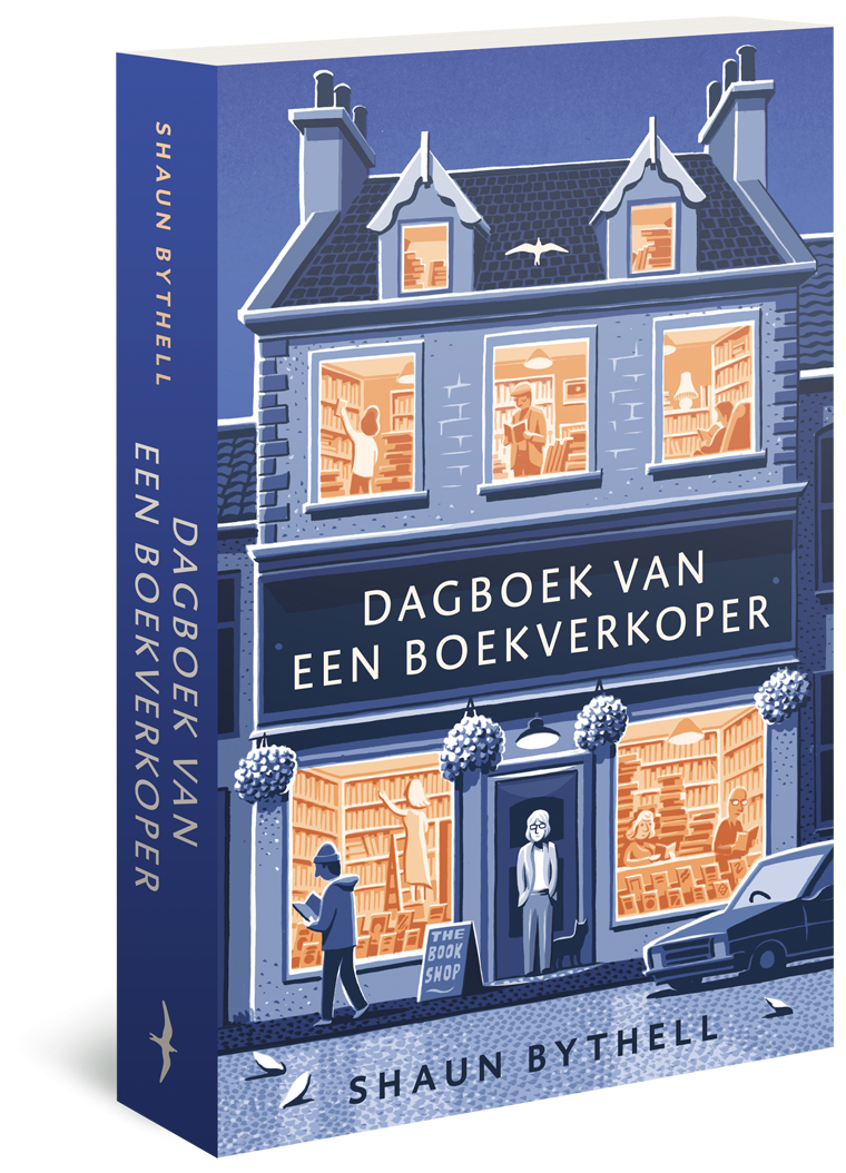Dagboek van een boekverkoper @ Lauriekoek.nl
