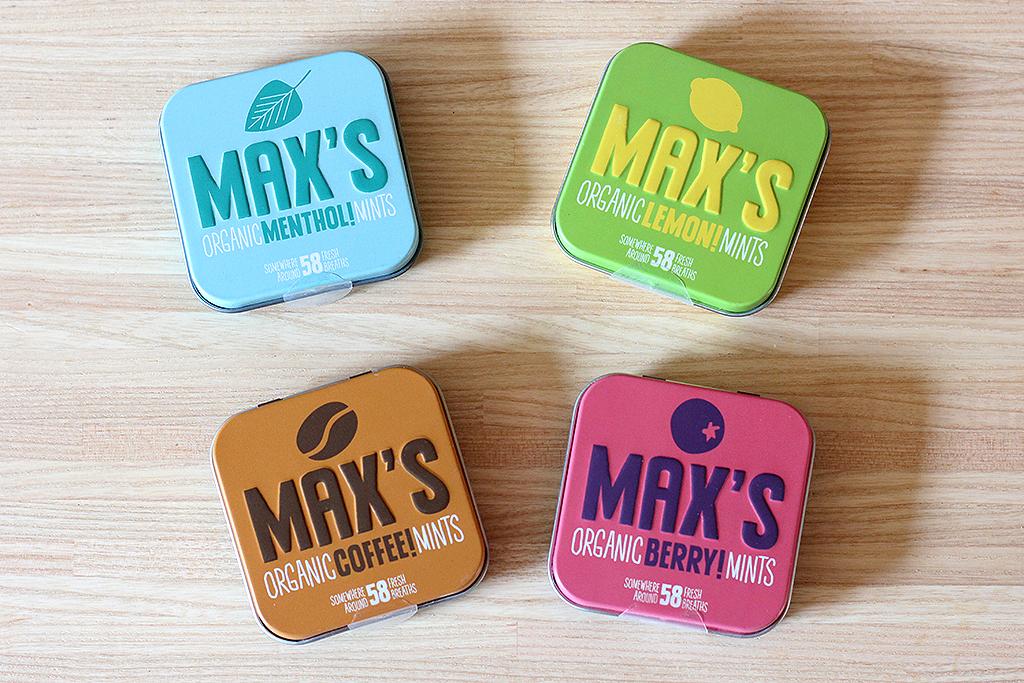 Max's Organic Mints @ Lauriekoek.nl