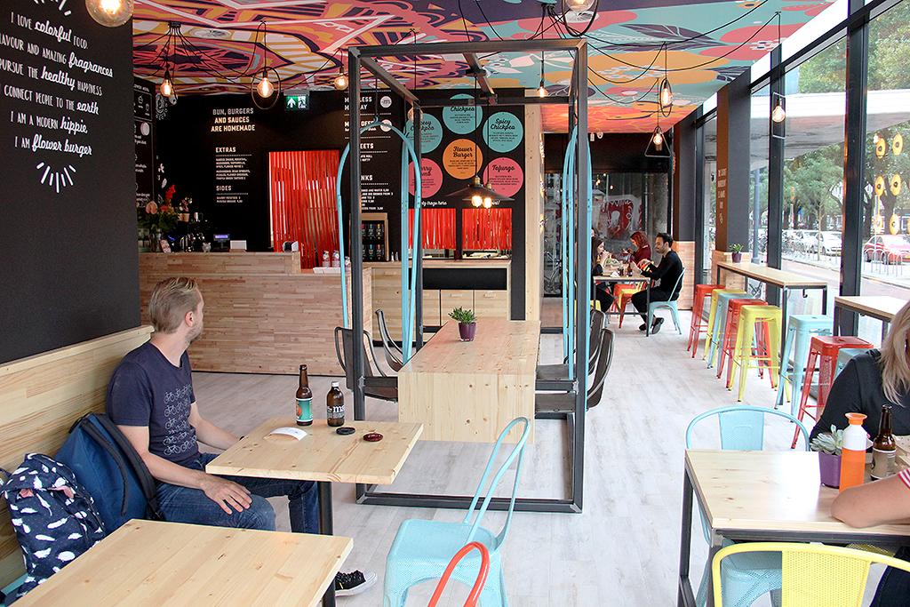 uit eten bij: Flower Burger @ Lauriekoek.nl