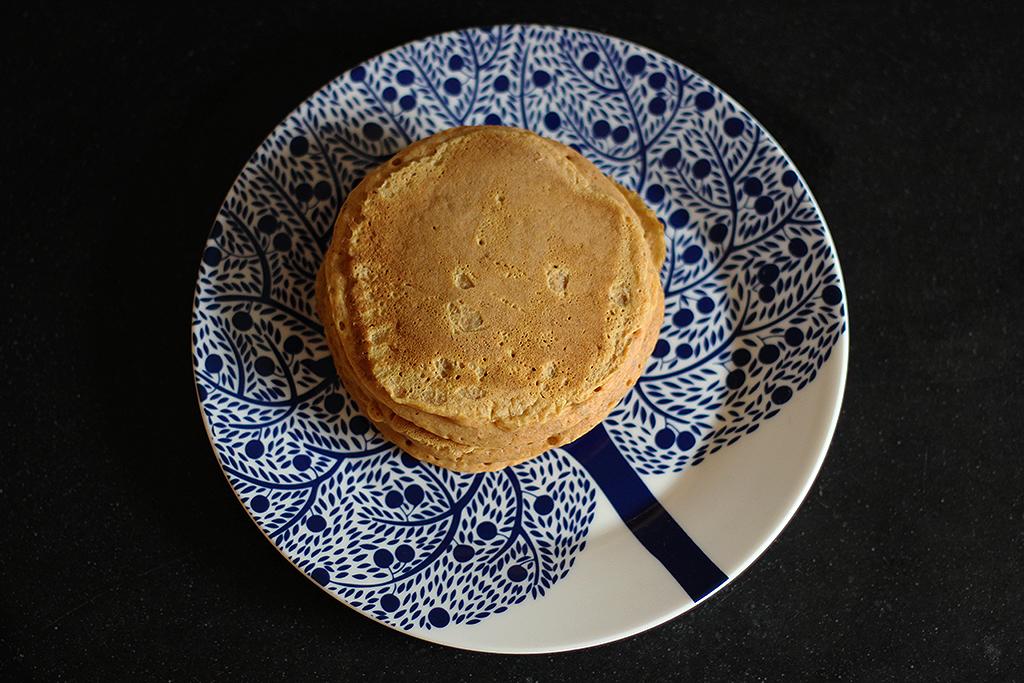 Recept: Amerikaanse pannenkoekjes met pompoen @ Lauriekoek.nl