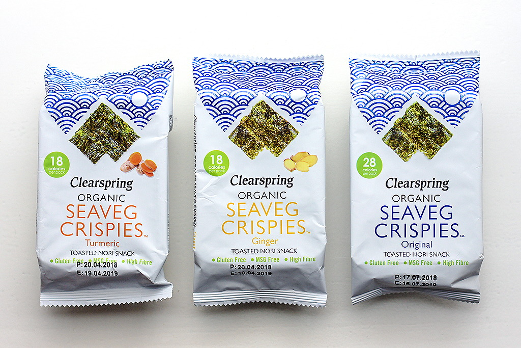 Clearspring Seaveg Crispies @ Lauriekoek.nl