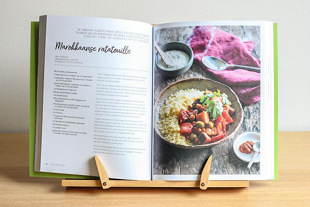 Boekrecensie: Slow Cooked Vega @ Lauriekoek.nl