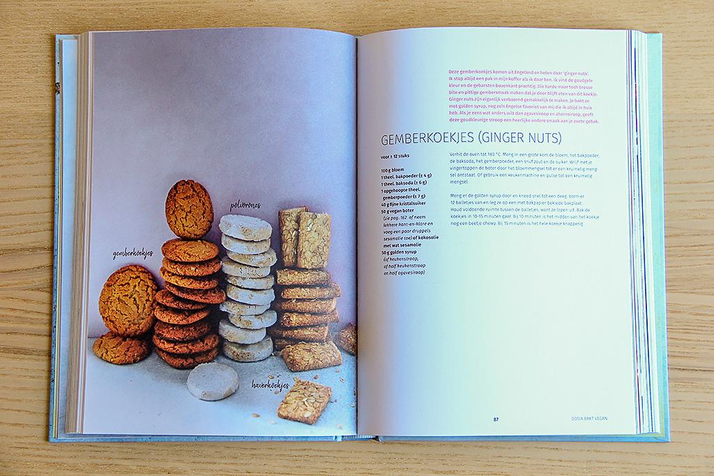 Boekrecensie: Dosia Bakt Vegan @ Lauriekoek.nl