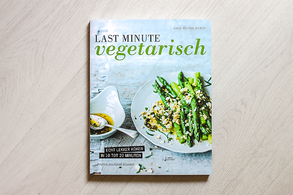 Boekrecensie: Last minute vegetarisch @ Lauriekoek.nl