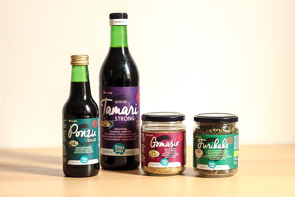 Japanse producten van Terra Sana @ Lauriekoek.nl