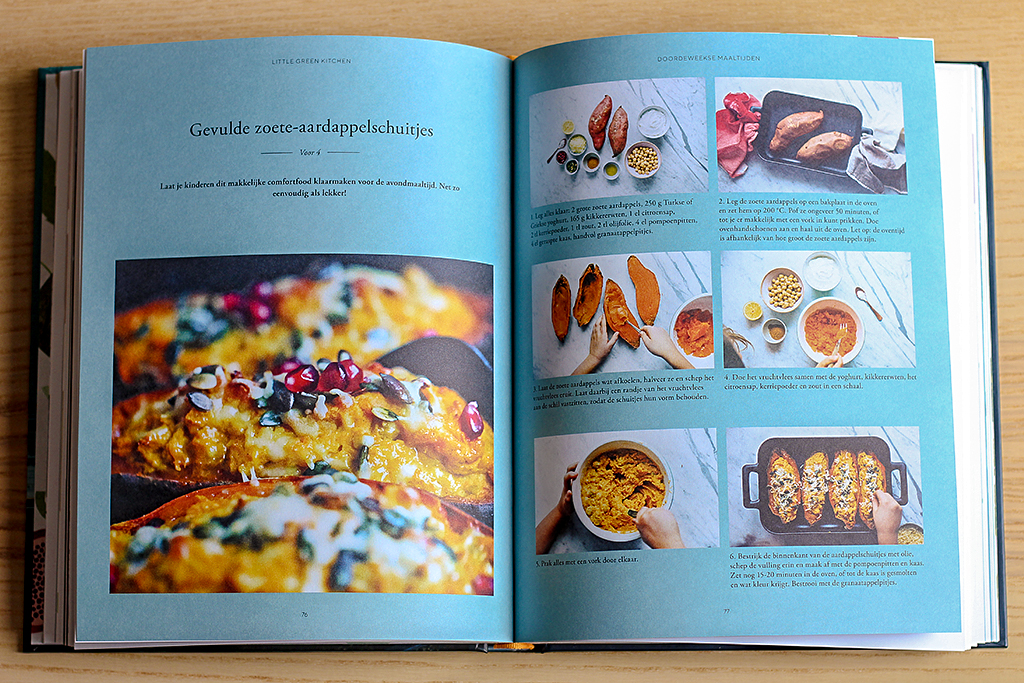 Boekrecensie: Little Green Kitchen @ Lauriekoek.nl