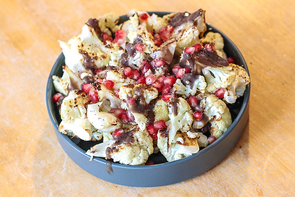 Recept: Bloemkool met fantastische grijze saus @ Lauriekoek.nl