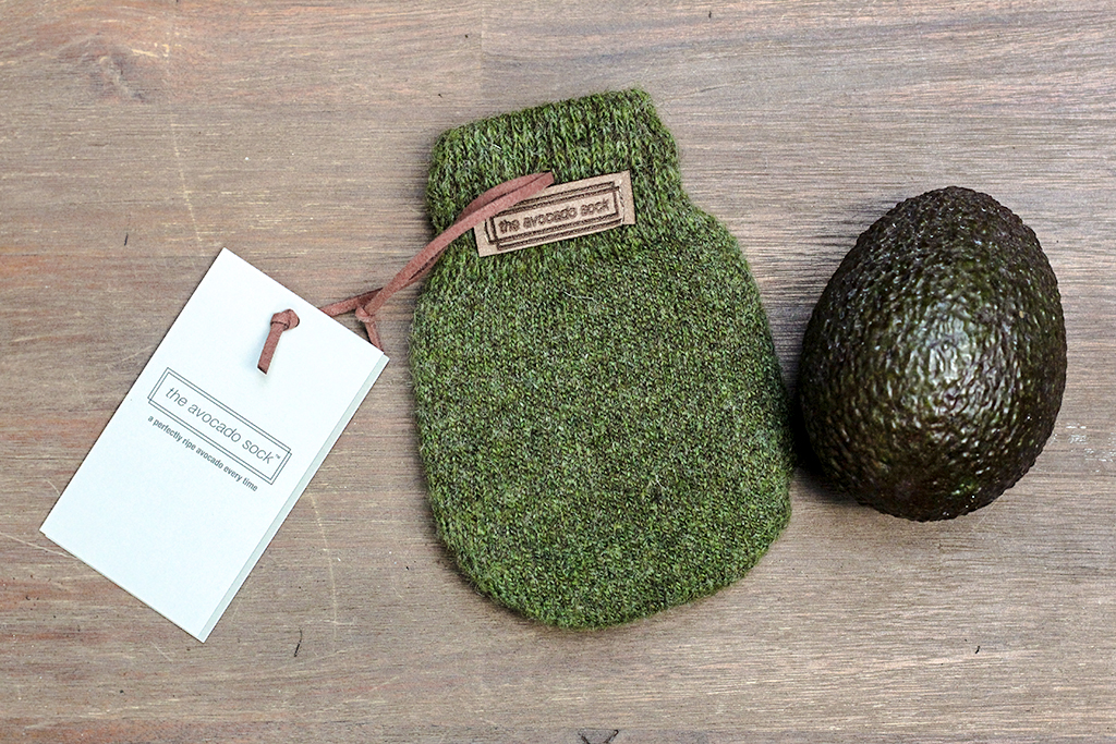 The Avocado Sock @ Lauriekoek.nl