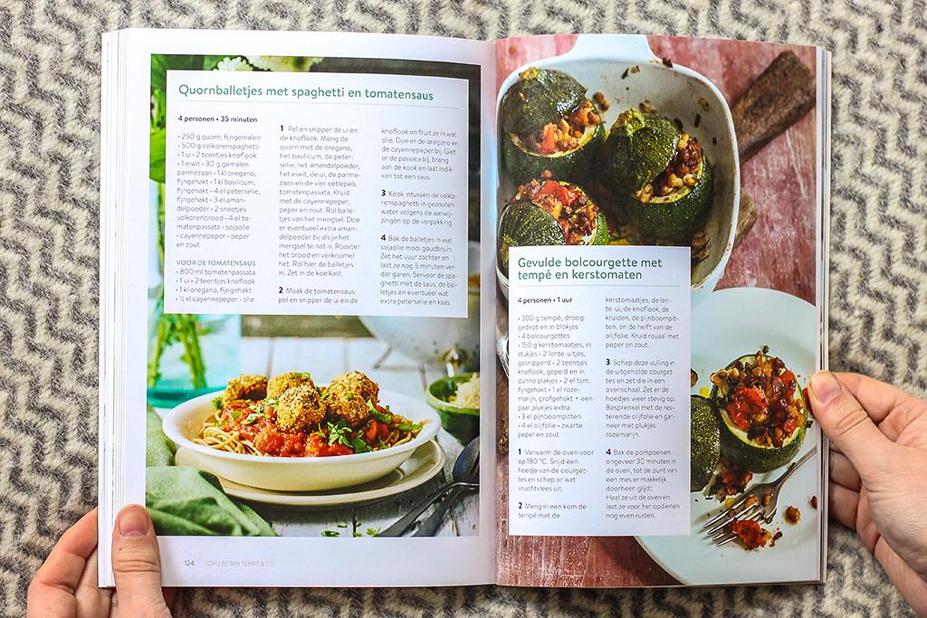 Boekrecensie: Libelle koken zonder vlees @ Lauriekoek.nl