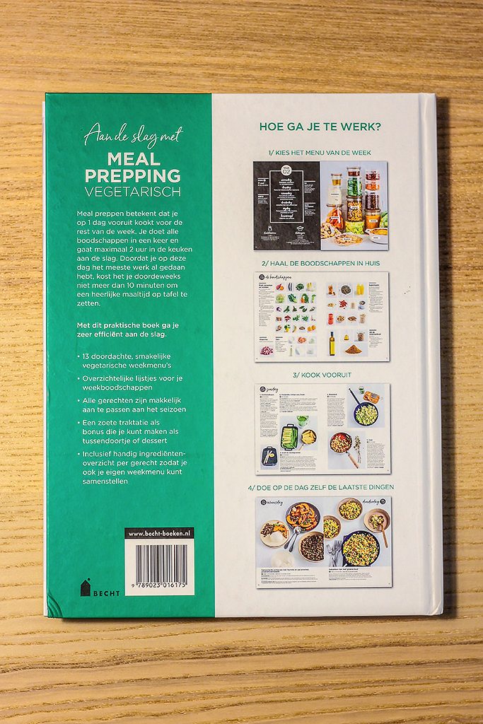Boekrecensie: Meal Prepping Vegetarisch @ Lauriekoek.nl