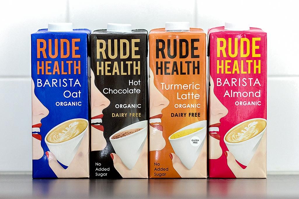 Rude Health Plantaardige melk @ Lauriekoek.nl