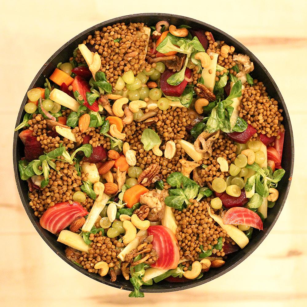 Grote salade @ Lauriekoek.nl