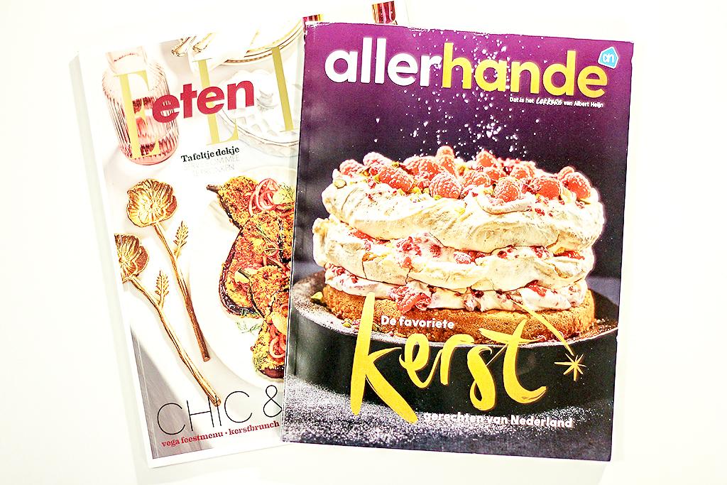 Kerstedities van kooktijdschriften 2019 @ Lauriekoek.nl