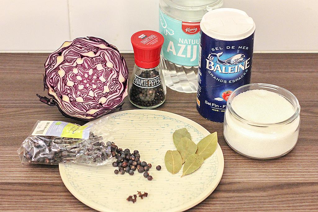 Recept: Pickle van Rodekool @ Lauriekoek.nl