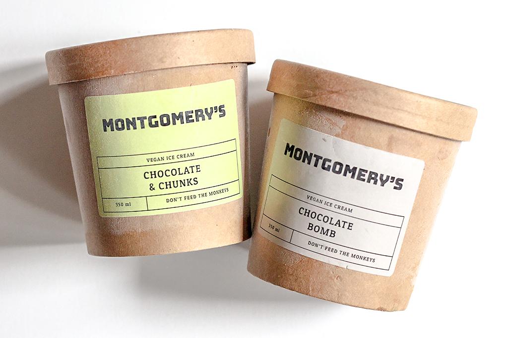 Montgomery's vegan ijs @ Lauriekoek.nl