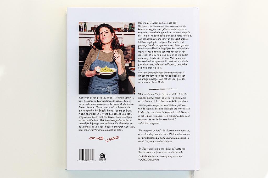 Boekrecensie: Home made basics @ Lauriekoek.nl