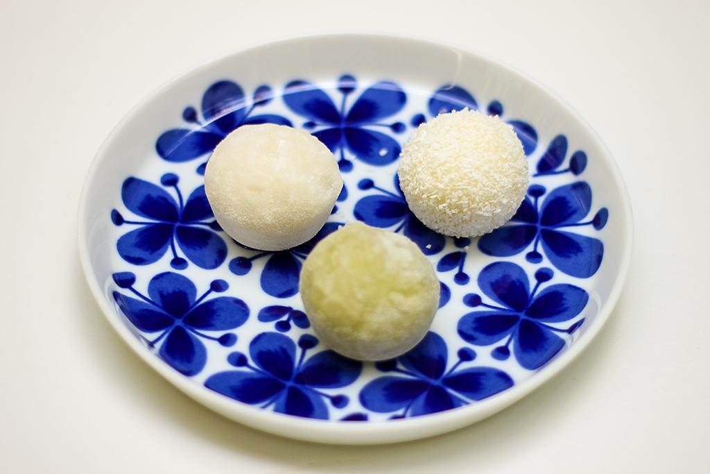 Little Moons Mochi balls @ Lauriekoek.nl
