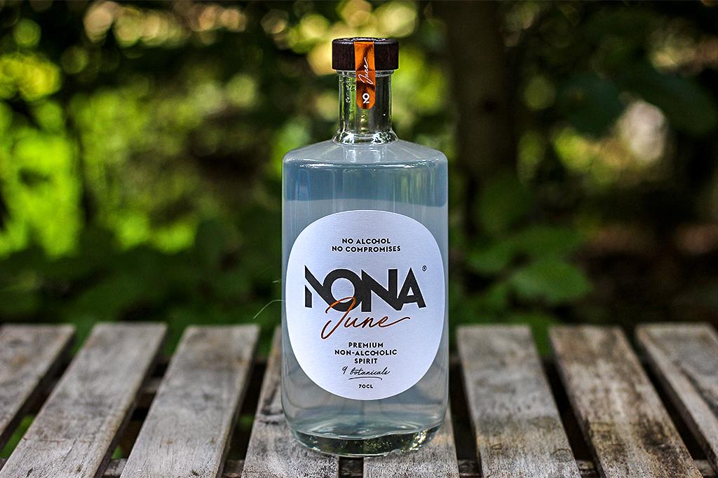Nona June Alcoholvrije Gin @ Lauriekoek.nl