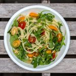 Recept: pasta met tomaatjes en rucola