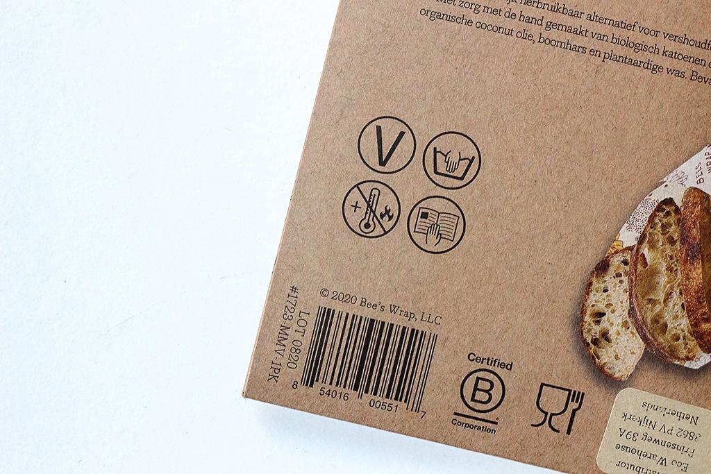Bee's wrap vegan @ Lauriekoek.nl