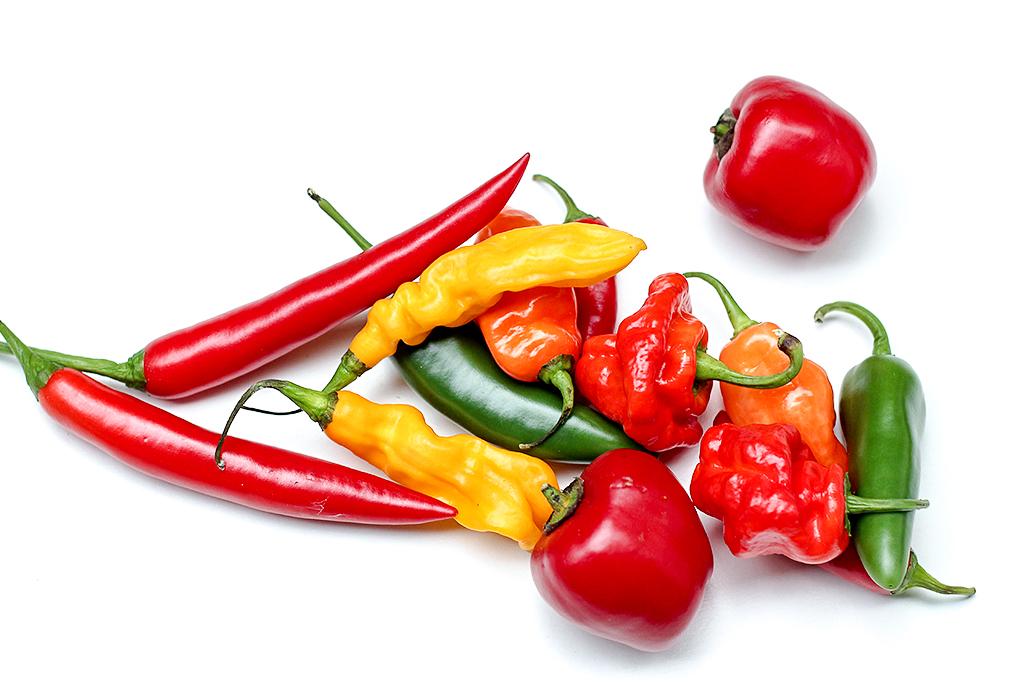 Westland peppers @ Lauriekoek.nl