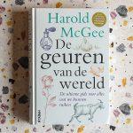 Boekrecensie: De geuren van de wereld van Harold McGee