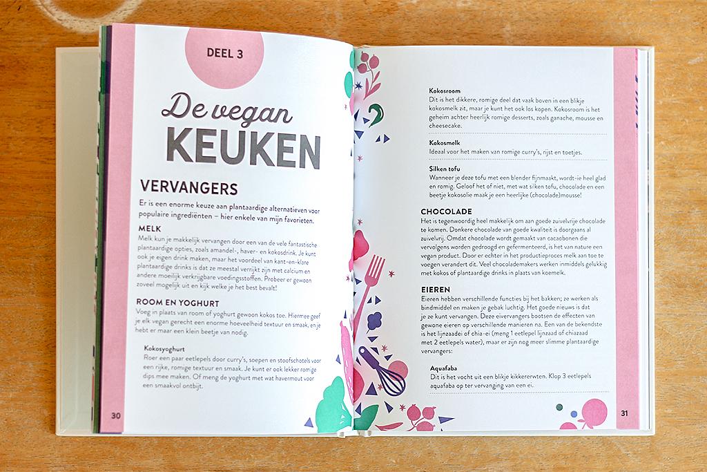 Boekrecensie: Be more vegan @ Lauriekoek.nl