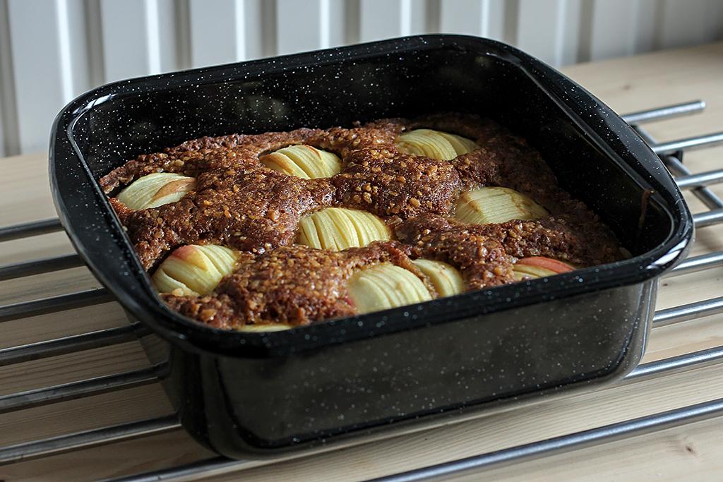 Recept: Appelcake met dubele gember @ Lauriekoek.nl