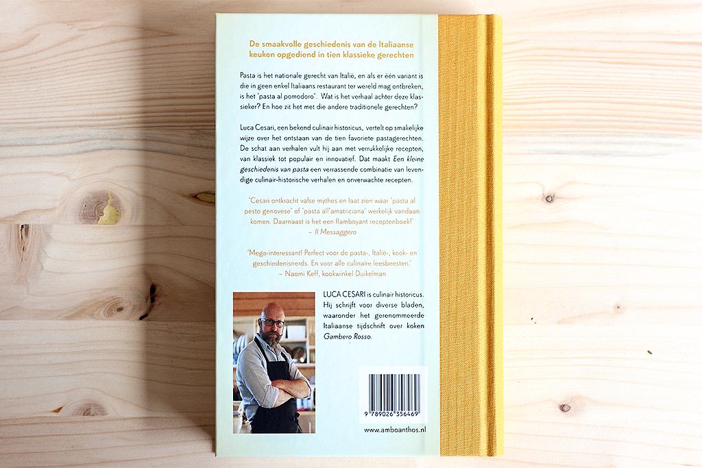 Boekrecensie: Een kleine geschiedenis van pasta @ Lauriekoek.nl